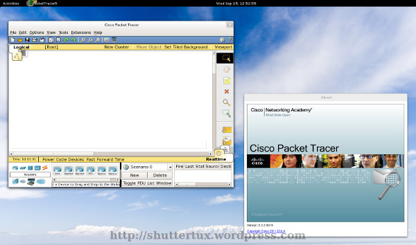 Cisco Packet Tracer Linux