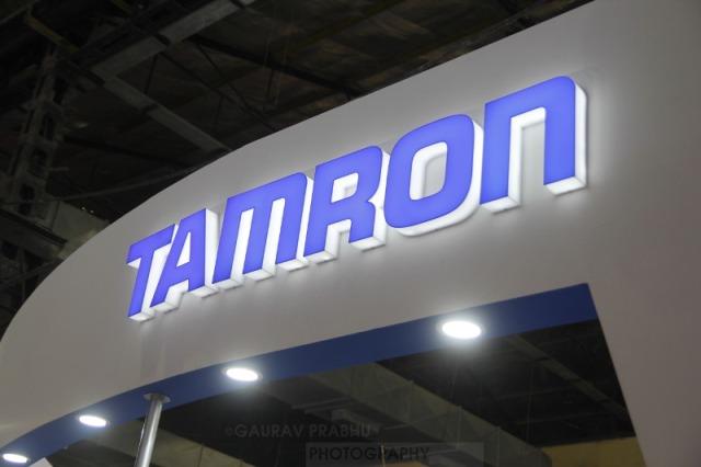 Tamron Logo Booth
