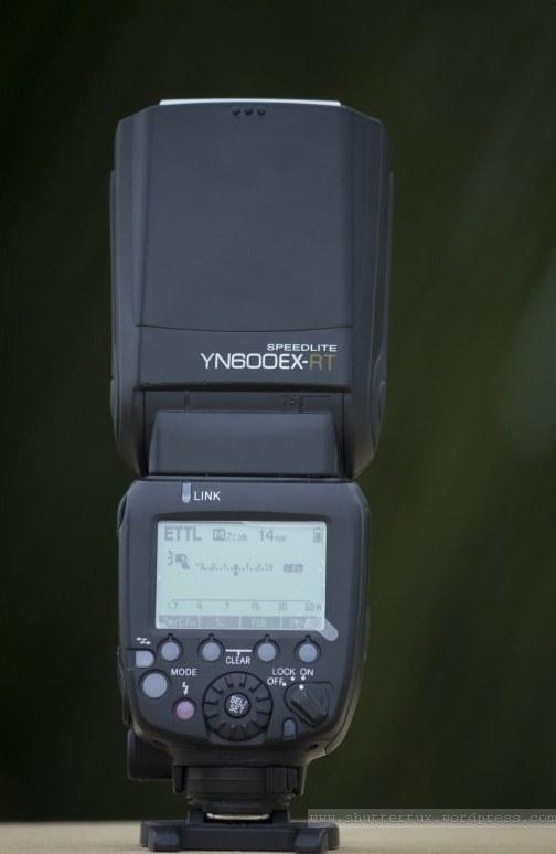 Yongnuo YN600EX-RT Back